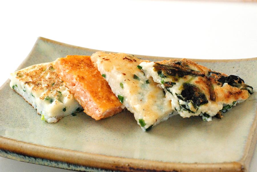 豆腐でつくるチヂミ